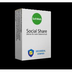 Social Media Button Lösung Pro